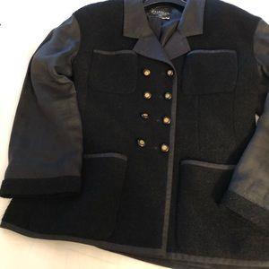 Chanel black Boucle jacket
